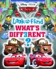 Go to record Disney Pixar cars look and find what's different